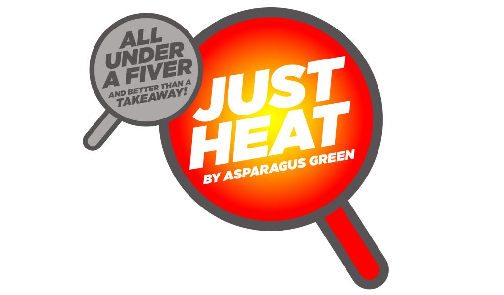 Just Heat by Asparagus Green logo