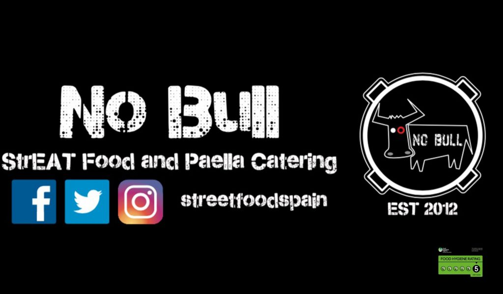 Streat food and paella catering